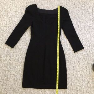 Diane Von Furstenberg Dresses - Diane von Furstenberg little black dress DVF